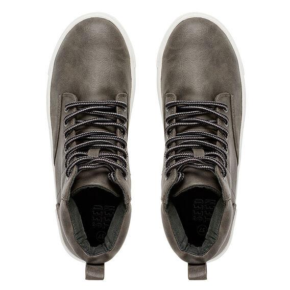 Grey High Top