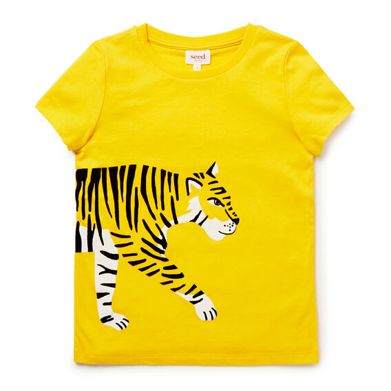 Tiger Print Tee