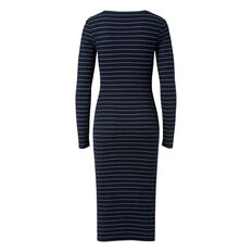 Slim Fit Long Sleeve Dress