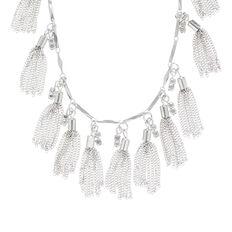 Multi Mini Tassel Necklace