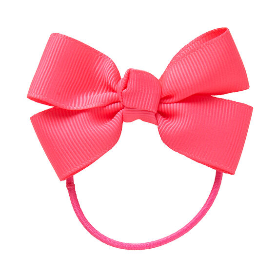 Grosgrain Bow Hair Elastics