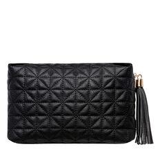 Large Tassel Pull Cosmetic Bag