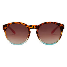 Tort Colour Block Sunglasses