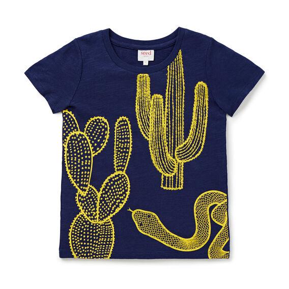 Cactus Print Tee