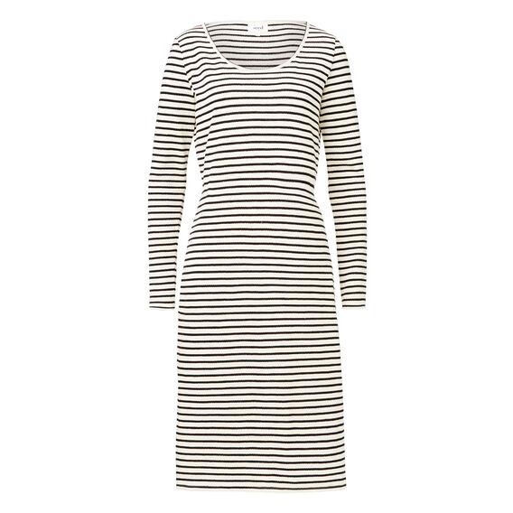 Long Sleeve Stripe Dress