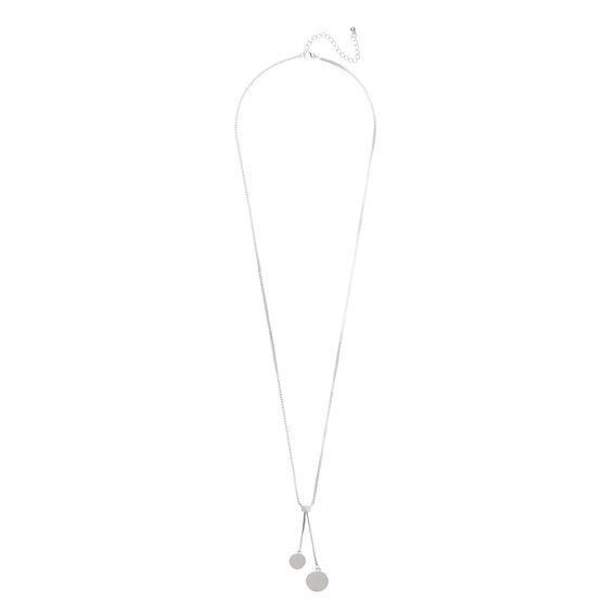 Drop Disc Necklace