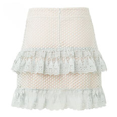 Lace Tier Skirt