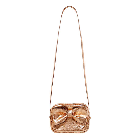 Metallic Bow Bag