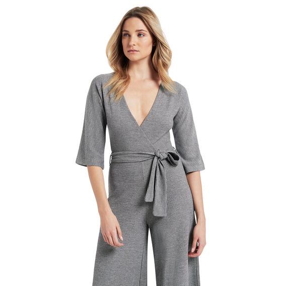 Knit Culotte Jumpsuit