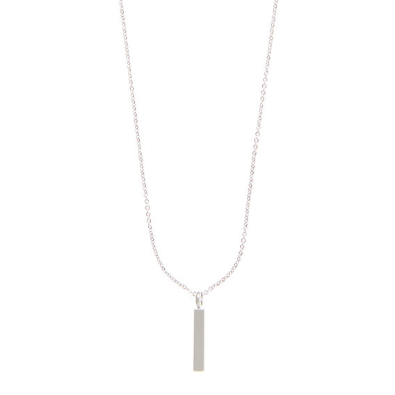 Bar Charm Necklace
