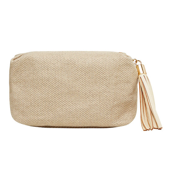 Small Tassel Pull Cosmetic Bag