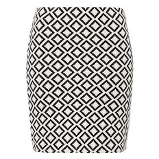 Textured Mini Skirt