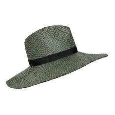 Pleated Raffia Hat