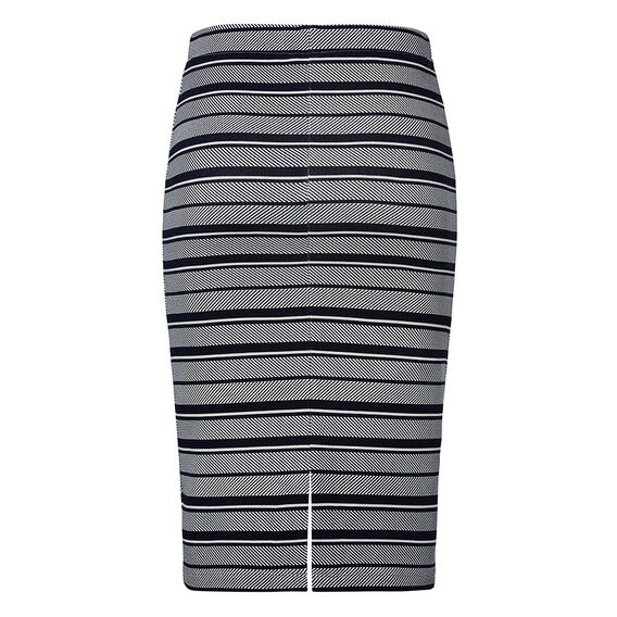 Stripe Tube Skirt