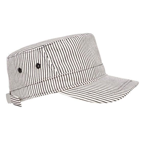 Stripe Cadet Cap