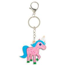 Unicorn Keyring