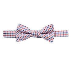 Plaid Bow Tie