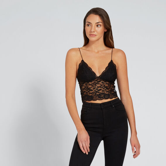 Lace Bustier