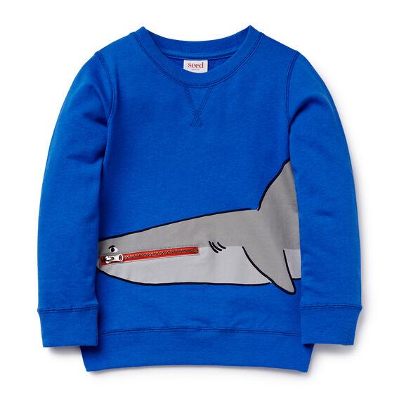 Novelty Shark Sweater
