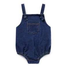 Denim Terry Onesie