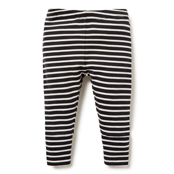 Stripe Cuffed Legging