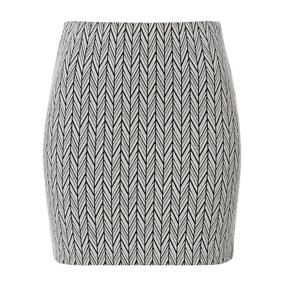 Textured Weave Skirt