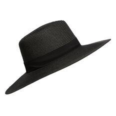 Dressed Wide Brim Hat