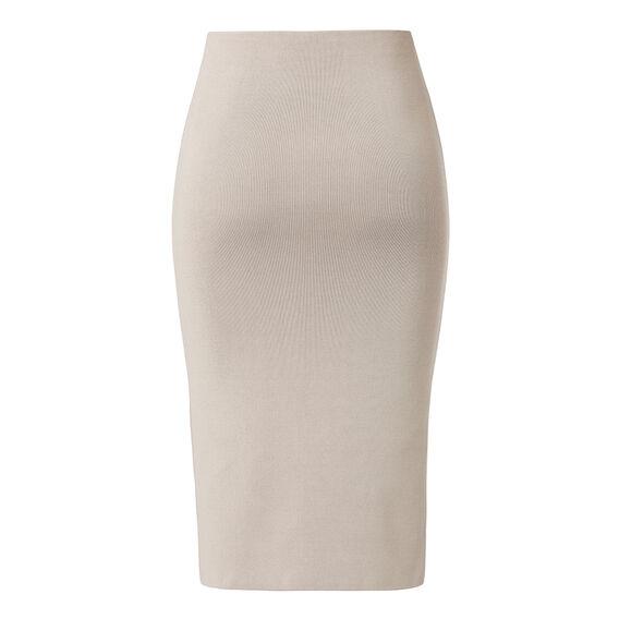 Crepe Knit Midi Skirt
