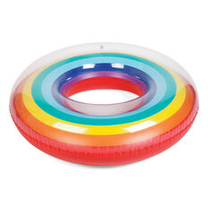 Inflatable Rainbow Pool Ring