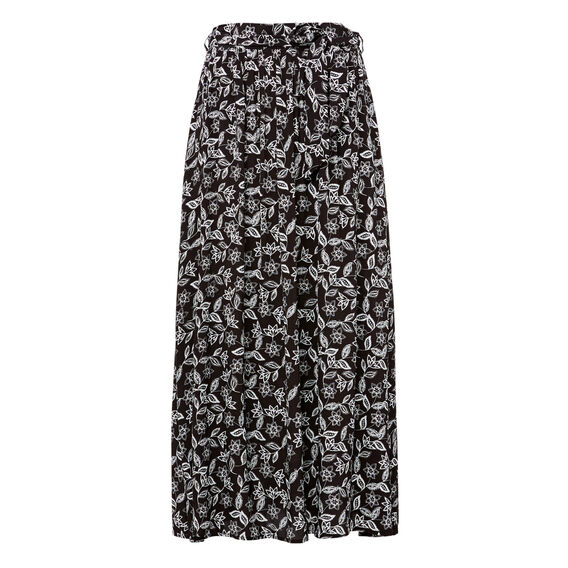Printed Full Skirt