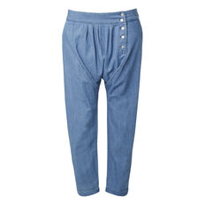 Button Harem Pant