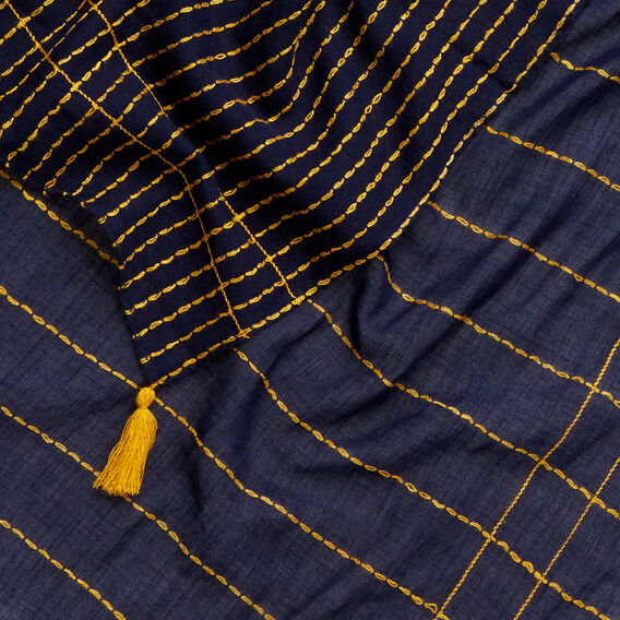 Stitch Detail Scarf