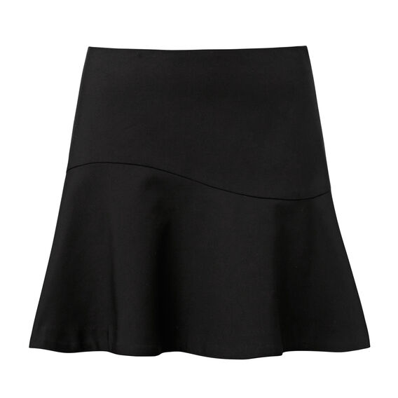 Double Frill Mini Skirt