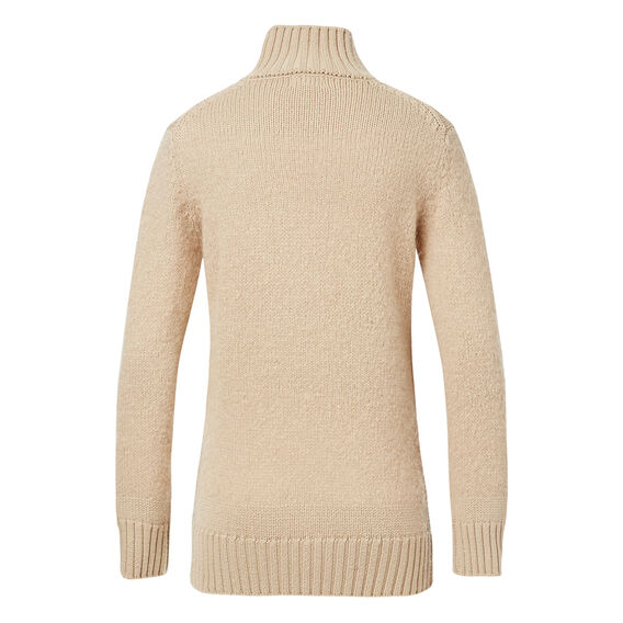 Feather Panel Roll Neck
