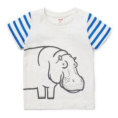Hippo Stripe Tee