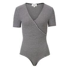 Wrap Stripe Bodysuit