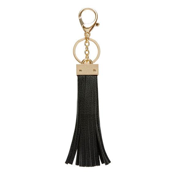Black Tassel Keyring