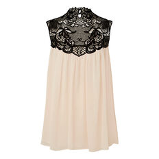 Lace Floaty Top