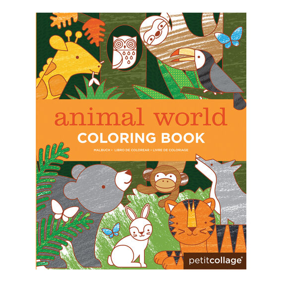 Animal Planet Colouring Book
