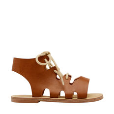 Lace Up Gladiator Sandal