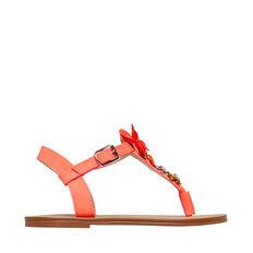 Flower T-Bar Sandal
