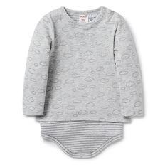 Cloud Print Bodysuit