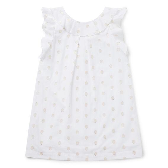 Low-Back Frill Dress