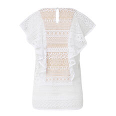 Collection Frill Lace Top