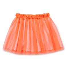 Broderie Tulle Skirt