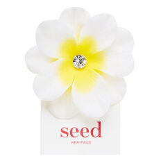 Centered Flower Clip