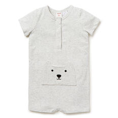 Bear Pocket Jumpsuit