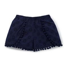 Broderie Pom Pom Shorts