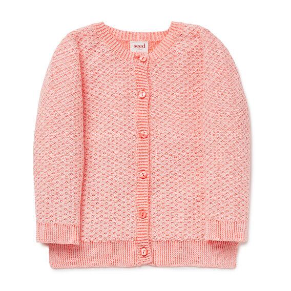 Textured Knit Cardigan