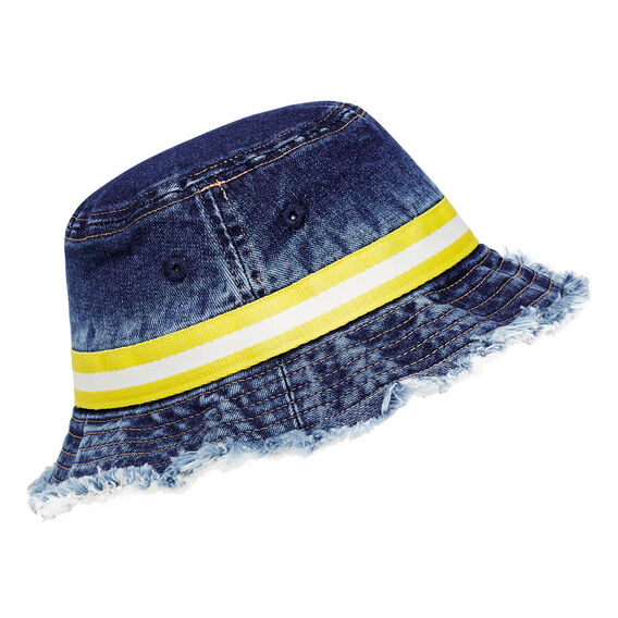 Stripe Band Sun Hat